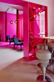 interior design modern bathroom with pink vanity cabinet idolza