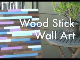 wood stick wall