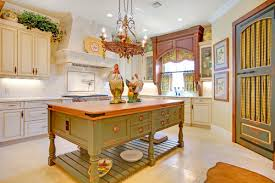 French Country Roman Shades - french country style lighting for the kitchen