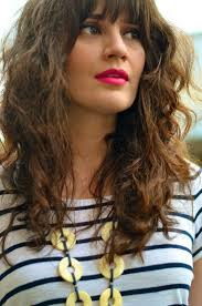 which hair style is suitable for curly hair medium height best 25 curly hair with bangs ideas on pinterest curly hair