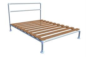 how to build a pipe bed frame simplified building
