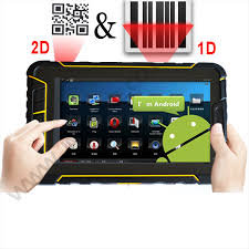 bar scanner for android android rugged tablet ip67 with built in 2d barcode scanner 4g