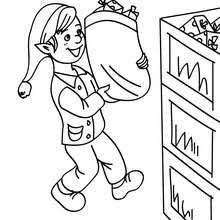 santa u0027s helpers coloring pages 43 printables color
