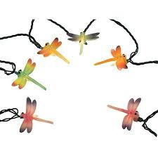 buy set of 10 multi color dragonfly summer patio novelty christmas