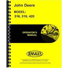 john deere 316 wiring schematic wiring diagram simonand