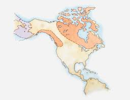 Map 0f America by New Study Refutes Theory Of How Humans Populated North America
