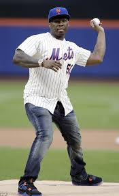 New York Mets Memes - 50 cent throws horrible first pitch at new york mets game daily