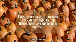 i wish you a filled with and gratitude on this