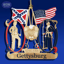 the battle of gettysburg ornament