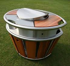 outdoor barbeque designs barbeque bonanza 15 great outdoor grill designs urbanist