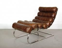 chaise loft chaise longue en cuir waco vintage cigare loft ideas mezzanine