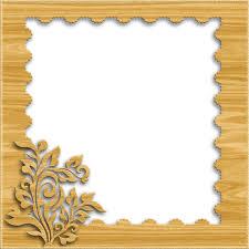 Decorative Frame Light Wood by PLACID85 on DeviantArt