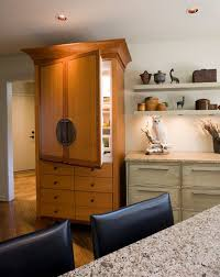 Built In Refrigerator Cabinets Built In Vs Freestanding Refrigerators U2013 Choose What U0027s Best For You