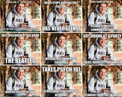 College Freshman Meme - freshman lover boy sonnet elyse joy haines
