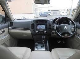 Mitsubishi Pajero 2008 Interior Used Mitsubishi Pajero 2008 For Sale Stock Tradecarview 21071607