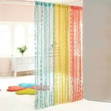 curtain room divider for temporary door solution diy home ideas