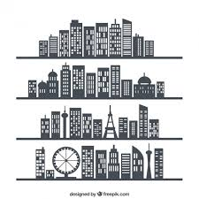 city skylines vector free download