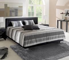 Schlafzimmer Komplett Verdunkeln Polsterbett 180x200 Cm Mit Lattenrost Und Bettkasten Pattani