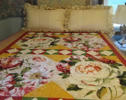 Homemade Duvet Cover Homemade Quilts Etsy