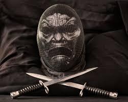 Stencil Giganti by Immortal Fencing Mask By Gwallchmai Grimm Pinterest Fencing
