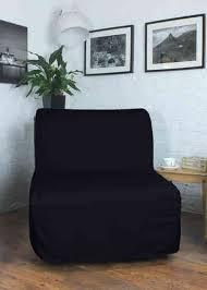 klippan sofa bed black poly cotton cover for ikea lycksele sofa bed hipica interiors