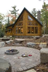 golden eagle log and timber homes log home cabin pictures exterior view 2