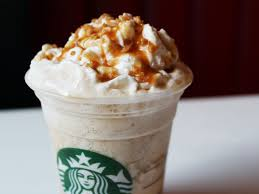 starbucks caramel light frappuccino blended coffee we try the new caramel ribbon crunch frappuccino from starbucks