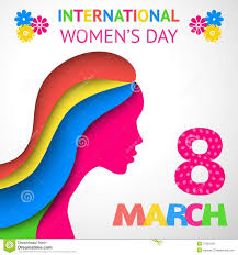 gift cards for women happy women s day greeting or gift card stock vector illustration