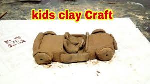 kids clay craft diy clay car youtube