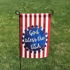 Yard Flags Wholesale God Bless America Home U0026 Garden Flag U2013 Second East Llc