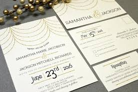 hanging lights wedding invitations roaring twenties invite set