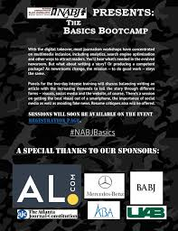 Best Journalist Resume by Nabj Presents The Basics Bootcamp National Association Of Black