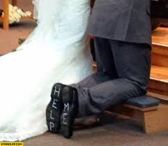 wedding shoes help me wedding help me written on bottom of the shoes starecat wedding