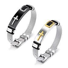 bracelet bangle men images Moniya stainless steel religious cross bracelet bangle jpg