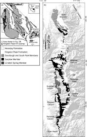 Map Of Death Valley Chapter 41 Glaciogenic And Related Strata Of The Neoproterozoic