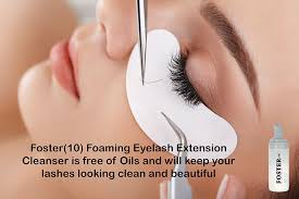 3 Month Eyelash Extensions Amazon Com Foster 10 Eyelash Extension Cleanser Face Wash Make