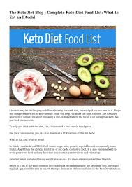 the ketodiet blog complete keto diet food list what to eat and avo u2026