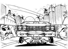 coloring pages of lowrider cars making lowrider cars coloring pages download print online