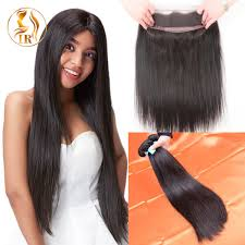 best hair on aliexpress best 360 frontal with bundles sew in bleaching knots on full lace