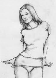 pinup sketch by aseea on deviantart