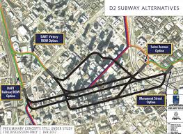Dart Dallas Map Why Dallas Needs To Take The Lead On Downtown Subway Streetcar