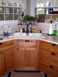 Kitchen Sink Cabinets 15 Cool Corner Kitchen Sink Designs Home Design Lover Cabinet And