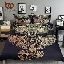 online get cheap elephant bedding aliexpress com alibaba group beddingoutlet tribal elephant bedding set boho mandala golden design ethnic indian god ganesha duvet cover indian symbol bed set