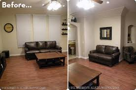livingroom makeovers before after a high style low cost living room makeover curbly