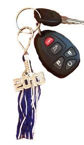 graduation keychain key ring tassels high school college 9inch graduation tassels
