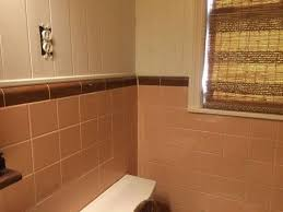 Pink And Brown Bathroom Ideas Can My 50 S Pink Tiled Bathroom Be Painted Hometalk