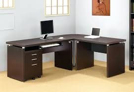 Realspace Office Furniture by Desk Realspace Magellan Collection L Shaped Desk Cherry Magellan