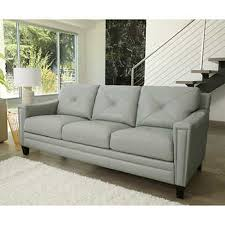 Gray Leather Sofas Leather Sofas U0026 Sectionals Costco
