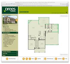 interactive floor plans drees homes a custom home builder