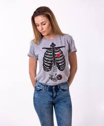 baby maternity shirt halloween shirt skeleton shirt